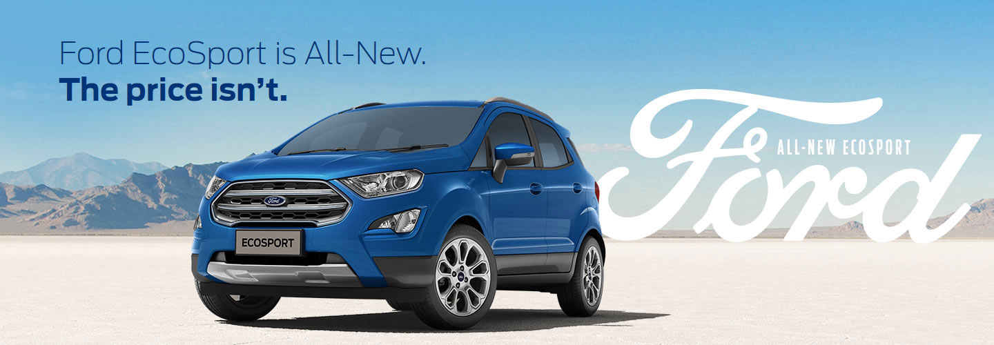 New Ford Ecosport 2019